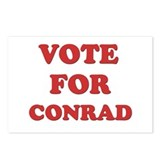 Vote for CONRAD Postcards (Package of 8)