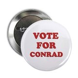 Vote for CONRAD 2.25&quot; Button (10 pack)