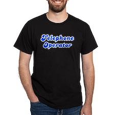 Retro Telephone o.. (Blue) T-Shirt