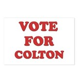 Vote for COLTON Postcards (Package of 8)