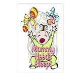 Mommy Needs Sleep Postcards (Package of 8)