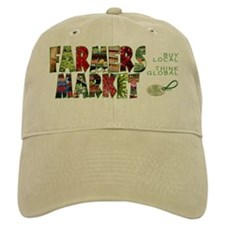 Farmers Market Baseball Cap (adjustable)
