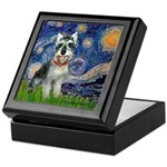 Starry Night /Schnauzer(#8) Keepsake Box