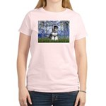 Lilies (#6) & Schnauzer #7 Women's Light T-Shirt