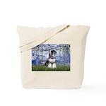 Lilies (#6) & Schnauzer #7 Tote Bag