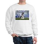 Lilies (#6) & Schnauzer #7 Sweatshirt