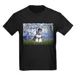 Lilies (#6) & Schnauzer #7 Kids Dark T-Shirt