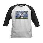 Lilies (#6) & Schnauzer #7 Kids Baseball Jersey