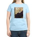 Whistler's Mother /Schnauzer Women's Light T-Shirt