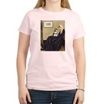 Whistler's Mother /Schnauzer Women's Light T-Shirt