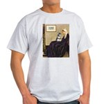 Whistler's Mother /Schnauzer Light T-Shirt