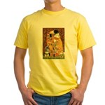 Kiss / Schnauzer (#7) Yellow T-Shirt