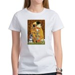Kiss / Schnauzer (#7) Women's T-Shirt