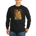 Kiss / Schnauzer (#7) Long Sleeve Dark T-Shirt
