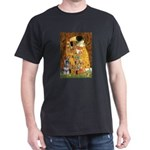 Kiss / Schnauzer (#7) Dark T-Shirt