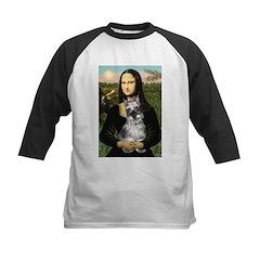 Mona Lisa's Schnauzer (#1) Kids Baseball Jersey