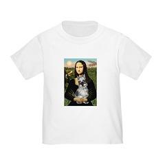 Mona Lisa's Schnauzer (#1) Toddler T-Shirt