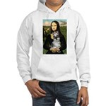 Mona Lisa's Schnauzer (#1) Hooded Sweatshirt