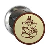 "Ganesha 2.25"" Button (10 pack)"