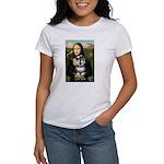 Mona Lisa's Schnauzer (#6) Women's T-Shirt