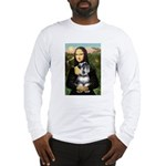 Mona Lisa's Schnauzer (#6) Long Sleeve T-Shirt