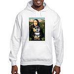 Mona Lisa's Schnauzer (#6) Hooded Sweatshirt