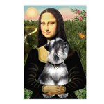 Mona Lisa's Schnauzer (#6) Postcards (Package of 8