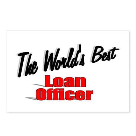 """The World's Best Loan Officer"" Postcards (Package"