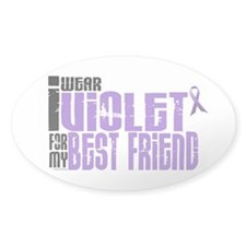 I Wear Violet For My Best Friend 6 Decal