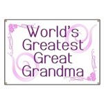 World's Greatest Great Grandma Banner