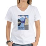 Fort Marion National Monument Women's V-Neck T-Shi