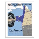 Fort Marion National Monument Small Poster