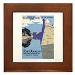 Fort Marion National Monument Framed Tile