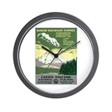 Lassen Volcanic National Park Wall Clock