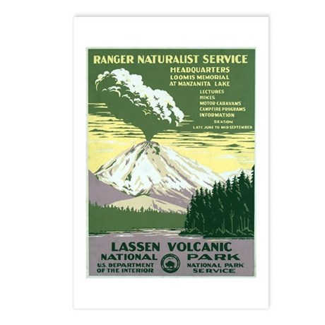 Lassen Volcanic National Park Postcards (Package o