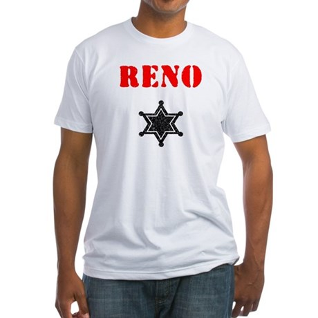 Reno 911 Fitted T-Shirt