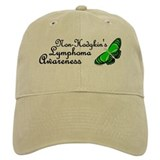 Butterfly Awareness 2 (Non-Hodgkin's) Baseball Cap