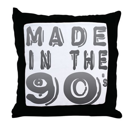 Made in the 90's Throw Pillow