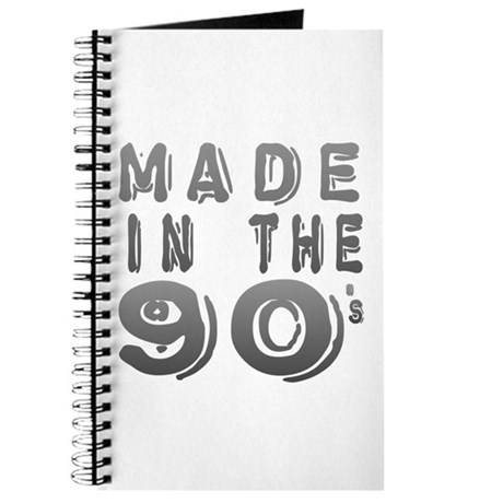 Made in the 90's Journal