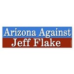 Arizona Against Jeff Flake Bumper Sticker