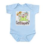 Got Diapers? Infant Creeper