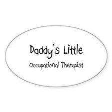 Daddy's Little Occupational Therapist Decal