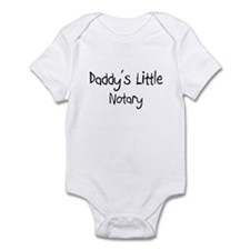 Daddy's Little Notary Infant Bodysuit