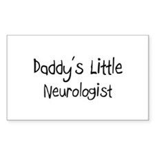 Daddy's Little Neurologist Rectangle Bumper Stickers