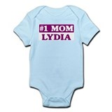 Lydia - Number 1 Mom Onesie