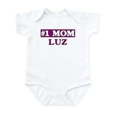 Luz - Number 1 Mom Infant Bodysuit