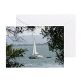 Sailing In San Fran. Greeting Cards 10pk.