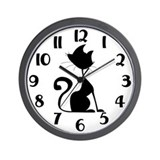 Black cat Basic Clocks