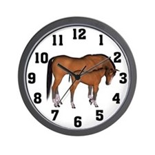Love My Horse Wall Clock