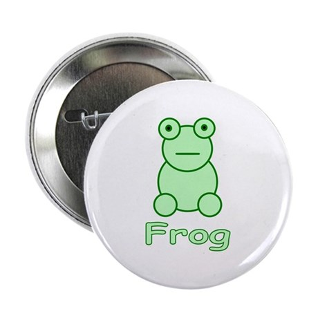 "Funny Frog 2.25"" Button (100 pack)"